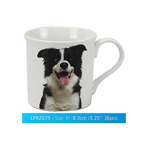 Border Collie Berger Best pour chien Porcelaine