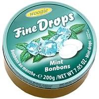 """Woogie Mint-Bonbons """"Fine Drops"""" in der wiederverschließbaren 200g Dose"""