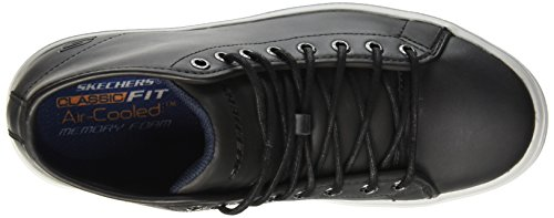Skechers Porter Stern, Sneaker Homme Noir (noir (noir Noir))