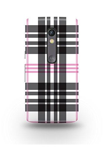 Moto X Play Cover,Moto X Play Case,Moto X Play Back Cover,Plaid Moto X Play Mobile Cover By The Shopmetro-12210