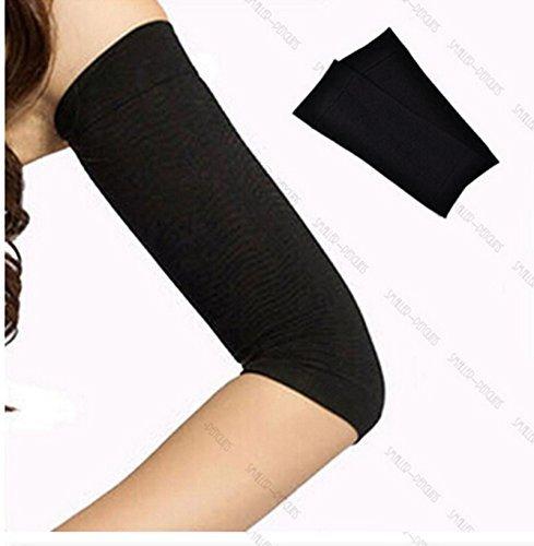 ewin24 1 accoppiamento del nero calorie off slim shaping shaper massaggiare perdere grasso buster trimmer belt per le armi