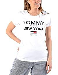 4b5ef042e01 Tommy Hilfiger - DW0DW06637 100 - TJW Essential Graphic tee - Classic White  - Camiseta Logo