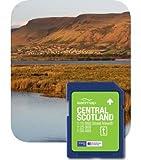 Satmap MapKarte: Schottland Zentral (OS 1:10k, 1:25k & 1:50k)