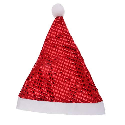 Baoblaze Vlisstoff Weihnachtsmütze Nikolausmütze Satan Mütze Weihnachtsmann Kostüm Zubehör - (Baby Satan Kostüm)