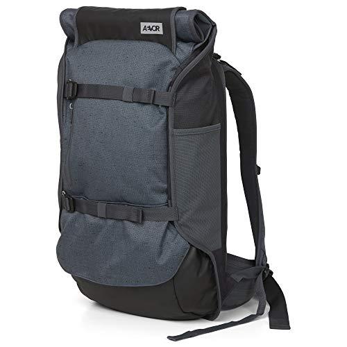 AEVOR Travel Pack Bichrome Night - Lifestyle Reiserucksack in Handgepäck-Größe erweiterbar auf 45 Liter inklusive abnehm- und verstellbarem Hüftgurt