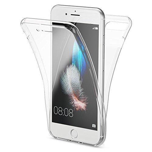 NALIA 360 Grad Handyhülle kompatibel mit Apple iPhone 7 Plus / 8 Plus, Full Cover vorne hinten...