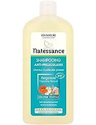 Lea Nature - Natessance Shampoing Anti Pelliculaire Bio - Bergamote - Cheveux A Pellicules Grasses 500 ml