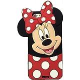 Funda de Gel Forma Minnie Mouse Silicona Carcasa para Huawei Y635