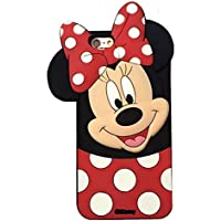 cd63d005504 Funda de Gel Forma Minnie Mouse Silicona Carcasa para iphone 6 6S