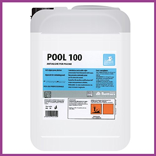 Antialghe per piscina svernante alghicida secchio 10 kg laghetti per giardino - Svernante per piscine ...