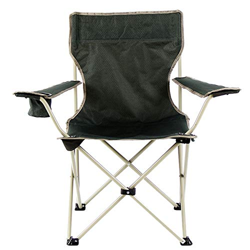 Tragbarer Klappstuhl Mittagspause Stuhl Angelstuhl Klappbarer Angelstuhl im Freien ()