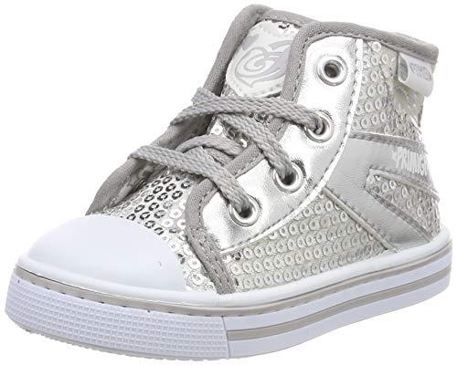 PRIMIGI Baby Mädchen PBU 34455 Sneaker, Silber (Silver 3445511), 27 EU