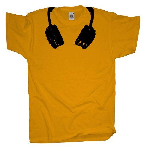 Ma2ca - Headphones - T-Shirt Sunflower