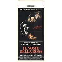 El nombre de la rosa Póster de película italiana - 34 cm x 72 cm 13 x 28 F, Murray Abraham Sean Connery Christian Slater Ron Perlman William chupetón fiodor Chaliapin Jr.