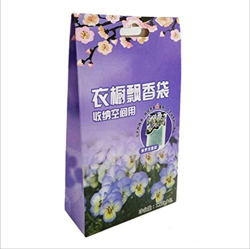 txxzn Borsa Profumata Almirah Sachet Profumo Borsa Solid Air Freshener 12 Tipi di Fragranza Possono Scegliere Vio