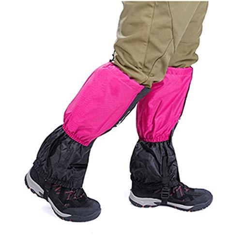 Scarpetta da bicicletta antiscivolo Ghette da escursionismo impermeabili Ghette legging resistenti Copri gamba alta traspirante Involucri per uomo Donna Bambini per Mountain Trekking Sci Arrampicata a