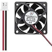 Ventilador de refrigeración, bajo Nivel de Ruido 6015S DC 15V 0.15A Ventilador de refrigeración 60x60x15 mm PC Radiador Calor Sink-Asidue