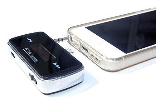 IDC © i9 Premium-FM Transmitter für Apple iPhone. Funktioniert auf dem iPhone 5 5c 5s. Premium-FM-Transmitter für den neueren 8-Pinnen Apple-Ladeanschluss ausgelegt. Kristallklaren Kabellose Musik in Ihrem Auto oder Radio in Ihrem Haus / Büro. Nur de