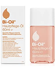 Bi-Oil Hautpflege-Öl, Spezielles Pflegeprodukt für Narben & Dehnungsstreifen (60 ml)