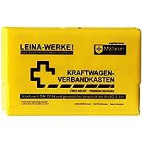 Leina Werke 10054 KFZ-Verbandkasten Leina-Star II, Gelb/Schwarz preisvergleich bei billige-tabletten.eu
