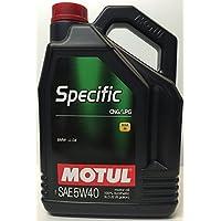 Olio motore MOTUL 101719specifiche Metano/Gpl 5W-40olio motore 5l