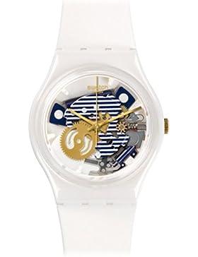 Swatch Unisex Erwachsene Armbanduhr Digital Quarz Silikon GW169