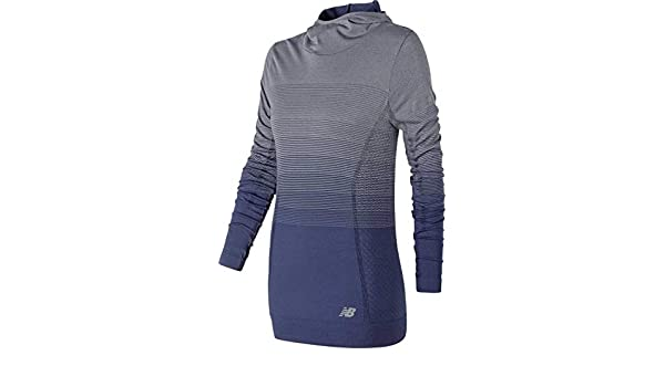 3e82266f1762a New Balance Women's Marino Ombre Hoodie: Amazon.co.uk: Clothing