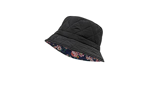 Cotton Traders Womens Ladies All Weather Reversible Waterproof Bucket Hat  Black M L  Amazon.co.uk  Clothing 9b2877eb77a7