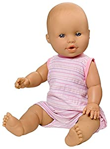 Rosa Toys- Muñeco bebé llora lágrimas y Toma biberón, Multicolor (3902)