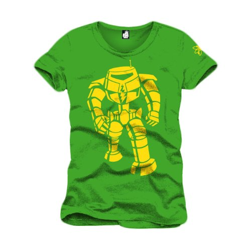 The Big Bang Theory Machine Jaune T Shirt (Vert) - XX-Large, Vêtements / Tee shirts