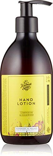 The Handmade Soap Company Zitronengras und Zedernholz Handlotion 300m.l (Lemongrass Soap Hand)