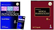 Textbook of Pathology with Pathology Quick Review and MCQs-English + Essentials of Medical Pharmacology (Set o