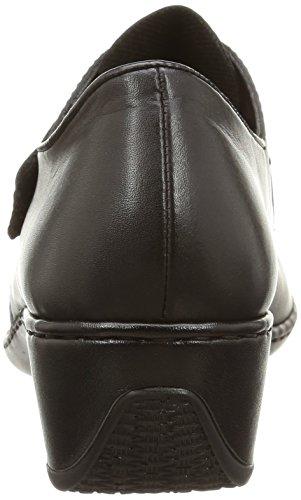 Rieker 47152-00, Damen Sneakers Schwarz (Noir)