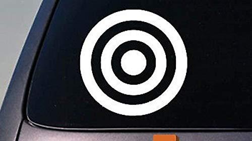 Celycasy Bullseye Bulls Eye 15,2 cm Aufkleber Auto Fenster Truck 2A Target Shooting Barrel (Shooting Target-papier)
