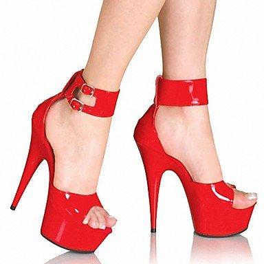 RTRY Donna Pantofole &Amp; Flip-Flops Ciabatte Pvc Summer Party &Amp; Sera Crystal Stiletto Heel Ruby Bianco Nero 5In &Amp; Oltre US10.5 / EU42 / UK8.5 / CN43