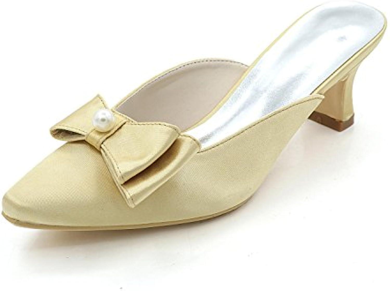les femmes élégantes chaussures chaussures haut talons bas talons talons talons / nuit / pantoufles sandales fête de mariage b078brt7ng parent e29fd1