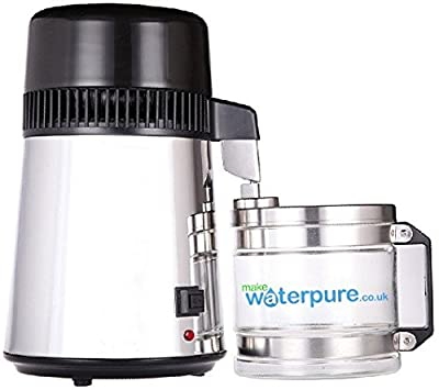 Make Your Water Pure STAINLESS STEEL WATER DISTILLER