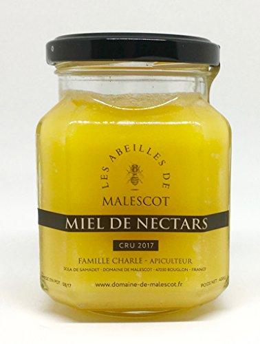 Miel de nectar. Apiculteur du Lot et Garonne. Le miel de nectar est la sélection de nos meilleures cuves du cru 2017