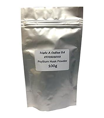 100g Psyllium Husk Powder Isabgol Isabhghula Plantago Ovata - Natural Laxative Ibs Colon Detox - Natural Fibre FREE P&P! from Triple A Online Ltd