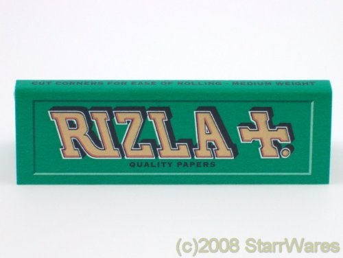 Rizla Green Cigarette Rolling Papers- 10 packets