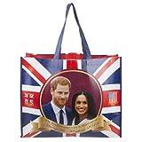 Toyland® Sac de Magasinage Commémoratif de Mariage Royal de Prince Harry et de Meghan Markle de 2018