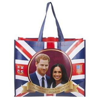 Toyland® Prinz Harry & Meghan Markle Royal Hochzeit 2018 Gedenk Shopper Tasche