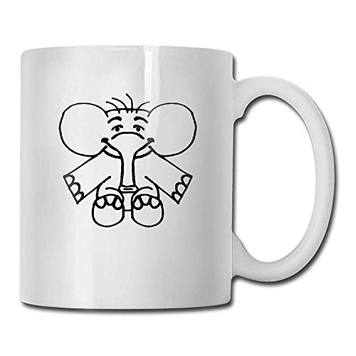 Strong Stability Durable Coffee Mug Elefant Tea Cup