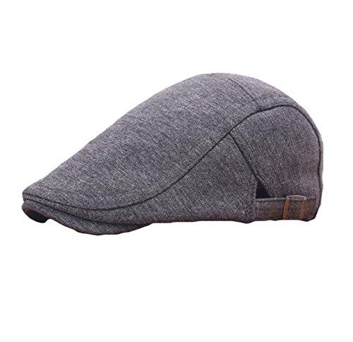 Leisial Hombre Mujer Sombreros Gorras Boinas Gorra
