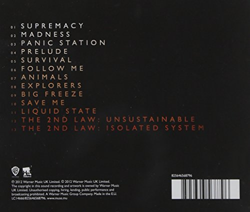 The 2nd Law (Jewel Case)