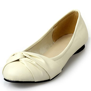 Confortevole ed elegante piatto scarpe donna Appartamenti Primavera Estate Autunno Inverno altre similpelle Office & Carriera Party & abito da sera tacco piatto nero blu Giallo Beige rosa beige