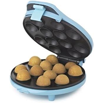 Lakeland Cake Pop-Eisen für 12 Stück, mit 6 Rezeptideen, Himmelblau,