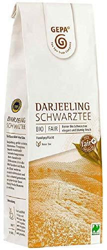 Gepa Bio Schwarztee Darjeeling - Lose - 1 Karton ( 5 x 100g )