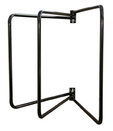 Kerbl 32686 Deckenhalter 3-armig, schwarz schwenkbar