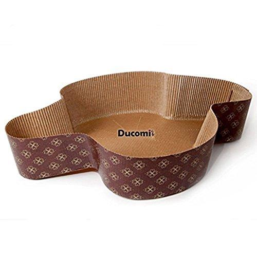 Ducomi® Set de Moldes para Paloma de Pascua y Dulces Pascuales -...
